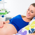 pregnant woman in delivery room waiting to give birth stock photo © kzenon