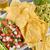トルティーヤ · チップ · 食品 · 緑 · 赤 · プレート - ストックフォト © LAMeeks
