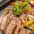 牛肉 · ファヒータ · 野菜 · オレンジ · 緑 · ディナー - ストックフォト © LAMeeks