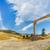 fából · készült · ív · bejárat · nagy · földút · Montana - stock fotó © lameeks