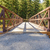 小川 · 橋 · 木製 · 峡谷 · 風景 · 木 - ストックフォト © LAMeeks
