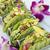 mini · tacos · abacate · ilha · salsa · concha - foto stock © LAMeeks