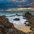 pôr · do · sol · mar · imagem · espetacular · marinha · península - foto stock © lameeks