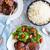 poulet · grillés · mariné · mélange · confiture - photo stock © LAMeeks