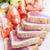 トマト · サラダ · 食品 · 赤 · 白 · ピンク - ストックフォト © lameeks
