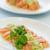 lazac · sashimi · zöldhagyma · mártás · hal · narancs - stock fotó © LAMeeks