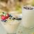 kása · puding · hűtőszekrény · granola · áfonya · eper - stock fotó © LAMeeks