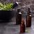 rozmaring · eszenciális · olajok · aromaterápia · sötét · fából · készült · fű - stock fotó © lana_m