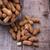 földimogyoró · zsák · zsákvászon · fából · készült · étel · természet - stock fotó © Lana_M