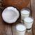 熱帯 · ココナッツミルク · 女性 · 入浴 - ストックフォト © lana_m
