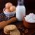 saludable · avena · cookies · casero · ingredientes - foto stock © Lana_M