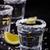 tiro · vodka · cal · fatia · isolado · branco - foto stock © lana_m