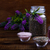 fürdő · egészségügy · levendula · kézzel · készített · só · törölköző - stock fotó © Lana_M