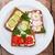健康 · パン · スナック · 小 · 全粒粉パン · 木製 - ストックフォト © lana_m
