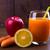 maçãs · vidro · branco · comida · fruto - foto stock © lana_m