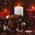 christmas · kaarsen · donkere · nacht · mooie · vakantie - stockfoto © lana_m