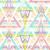 抽象的な · 幾何学的な · シームレス · パターン · カラフル · スタイル - ストックフォト © lapesnape