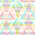 abstract geometric seamless aztec pattern colorful ikat style p stock photo © lapesnape