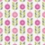 seamless pink spring or summer flowers pattern stock photo © lapesnape