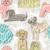 desenho · animado · poodle · falante · retro · desenho · bonitinho - foto stock © lapesnape