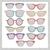 retro sunglasses set stock photo © lapesnape