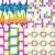 ingesteld · abstract · moderne · stijl · achtergronden · textuur · achtergrond - stockfoto © lapesnape