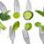 брокколи · вилка · изолированный · белый · фото · здоровья - Сток-фото © leeavison