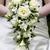 novia · ramo · de · la · boda · blanco · rosas · boda - foto stock © leeavison