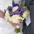 esküvői · csokor · menyasszony · vőlegény · kezek · kéz · esküvő - stock fotó © leeavison