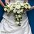 novia · boda · blanco · rosas · aumentó - foto stock © leeavison