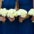 cuatro · blanco · aumentó · boda · azul - foto stock © leeavison
