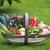 frissen · zöldségek · otthon · megnőtt · fából · készült · kert - stock fotó © leeavison