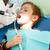 fogorvos · beteg · fogfájás · klinika · gyógyszer · fogászat - stock fotó © leedsn