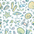 sin · costura · mar · criaturas · patrón · vector · mano - foto stock © leedsn