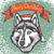 vektor · husky · kutya · karácsony · mikulás · kalap - stock fotó © leedsn