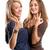 kettő · gyönyörű · nők · néz · divat · fiatal - stock fotó © leedsn