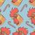 вектора · петух · птица · иллюстрация · голову · Новый · год - Сток-фото © leedsn