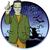 halloween · karikatür · canavar · karakter · ayakta · silah - stok fotoğraf © leedsn