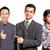 アジア · チーム · ビジネスマン · 男性 · ビジネスマン · スーツ - ストックフォト © leedsn