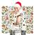 mujer · espera · Navidad · sombrero · sonrisa · feliz - foto stock © leedsn