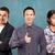 asian · team · zakenman · pak · man · gevouwen - stockfoto © leedsn