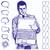 üzletember · számítógép · ikon · szövegbuborék · vektor · terv · laptop - stock fotó © leedsn