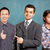 asian · team · zakenman · mannelijke · zakenman · pak - stockfoto © leedsn
