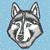 mavi · kurt · logo · örnek · karanlık · kafa - stok fotoğraf © leedsn
