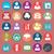 ui · ontwerp · trend · social · media · ingesteld · iconen - stockfoto © leedsn