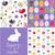 かわいい · イースター · ウサギ · 卵 · エンドレス - ストックフォト © lemony