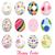 easter eggs happy easter stock photo © lemony