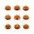 halloween · fekete · ikon · szett · elemek · ikonok · fa - stock fotó © lemony
