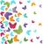 moderna · mariposas · textura · luz · diseno - foto stock © lemony