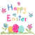 művészet · húsvét · fű · húsvéti · tojások · fa · boldog - stock fotó © lemony